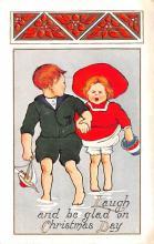 hol051639 - Christmas Postcard Old Vintage Antique Post Card