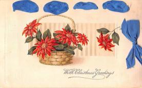 hol051653 - Christmas Postcard Old Vintage Antique Post Card