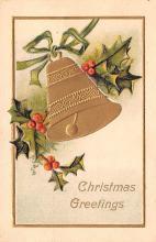 hol051659 - Christmas Postcard Old Vintage Antique Post Card