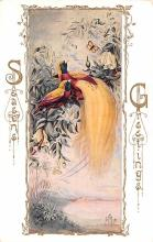 hol051707 - Christmas Postcard Old Vintage Antique Post Card