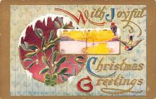 hol051721 - Christmas Postcard Old Vintage Antique Post Card