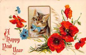 hol051769 - Christmas Postcard Old Vintage Antique Post Card