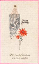 hol051779 - Christmas Postcard Old Vintage Antique Post Card