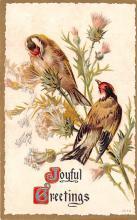 hol051803 - Christmas Postcard Old Vintage Antique Post Card