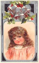 hol051823 - Christmas Postcard Old Vintage Antique Post Card