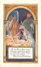 hol051831 - Christmas Postcard Old Vintage Antique Post Card