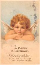 hol051837 - Christmas Postcard Old Vintage Antique Post Card