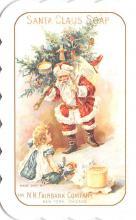 hol051867 - Christmas Postcard Old Vintage Antique Post Card