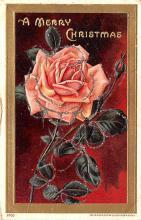 hol051901 - Christmas Postcard Old Vintage Antique Post Card