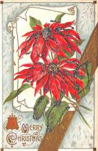hol051903 - Christmas Postcard Old Vintage Antique Post Card