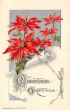 hol051933 - Christmas Postcard Old Vintage Antique Post Card