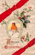 hol051953 - Christmas Postcard Old Vintage Antique Post Card