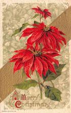 hol051957 - Christmas Postcard Old Vintage Antique Post Card