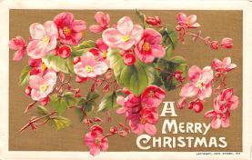 hol051999 - Christmas Postcard Old Vintage Antique Post Card