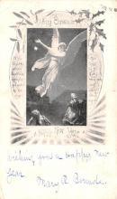 hol052071 - Christmas Postcard Old Vintage Antique Post Card