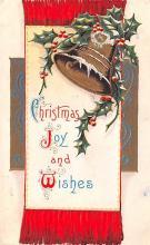 hol052109 - Christmas Postcard Old Vintage Antique Post Card