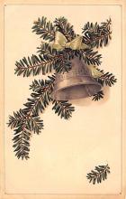 hol052139 - Christmas Postcard Old Vintage Antique Post Card