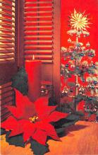 hol052195 - Christmas Postcard Old Vintage Antique Post Card