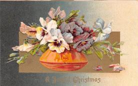 hol052223 - Christmas Postcard Old Vintage Antique Post Card