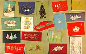 hol052235 - Christmas Postcard Old Vintage Antique Post Card