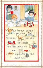 hol052393 - Christmas Postcard Old Vintage Antique Post Card