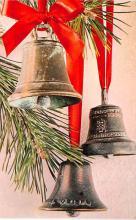 hol052399 - Christmas Postcard Old Vintage Antique Post Card