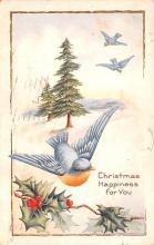 hol052411 - Christmas Postcard Old Vintage Antique Post Card