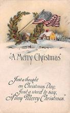 hol052441 - Christmas Postcard Old Vintage Antique Post Card
