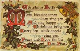 hol052453 - Christmas Postcard Old Vintage Antique Post Card