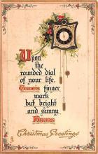 hol052469 - Christmas Postcard Old Vintage Antique Post Card