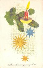 hol052481 - Christmas Postcard Old Vintage Antique Post Card
