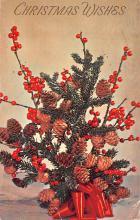 hol052507 - Christmas Postcard Old Vintage Antique Post Card