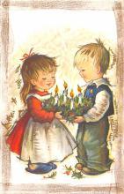 hol052511 - Christmas Postcard Old Vintage Antique Post Card