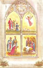 hol052561 - Christmas Postcard Old Vintage Antique Post Card