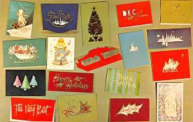 hol052565 - Christmas Postcard Old Vintage Antique Post Card