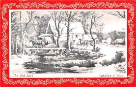 hol052567 - Christmas Postcard Old Vintage Antique Post Card