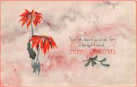 hol052599 - Christmas Postcard Old Vintage Antique Post Card