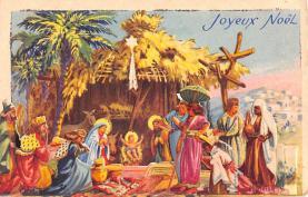 hol052627 - Christmas Postcard Old Vintage Antique Post Card