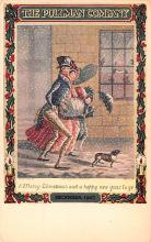 hol052691 - Christmas Postcard Old Vintage Antique Post Card