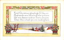 hol052711 - Christmas Postcard Old Vintage Antique Post Card