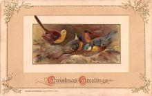 hol052903 - Christmas Postcard Old Vintage Antique Post Card