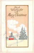 hol053005 - Christmas Postcard Old Vintage Antique Post Card