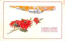hol053083 - Christmas Postcard Old Vintage Antique Post Card