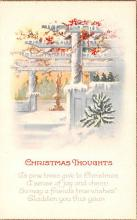 hol053127 - Christmas Postcard Old Vintage Antique Post Card