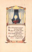 hol053131 - Christmas Postcard Old Vintage Antique Post Card