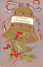 hol053157 - Christmas Postcard Old Vintage Antique Post Card