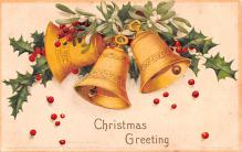 hol053259 - Christmas Postcard Old Vintage Antique Post Card