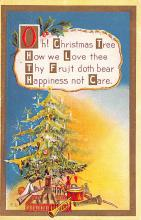 hol053277 - Christmas Postcard Old Vintage Antique Post Card