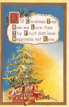 hol053277 - Christmas Postcard Old Vintage Antique Post Card
