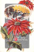 hol053287 - Christmas Postcard Old Vintage Antique Post Card